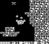 Metroid II: Return of Samus Game Boy With the screw attack, Samus can damage enemies while jumping