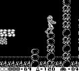 Metroid II: Return of Samus Game Boy Strange surroundings