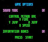 James Pond 3: Operation Starfish SNES Game Options