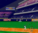 ESPN Baseball Tonight SNES This ball's carrying all the way to the wall