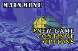Disney's Atlantis: The Lost Empire Game Boy Advance Main Menu
