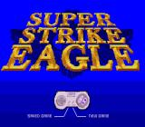 Super Strike Eagle SNES Title screen