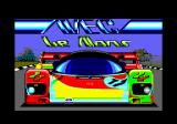 WEC Le Mans Amstrad CPC Loading screen