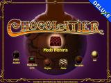 Chocolatier Windows Main menu