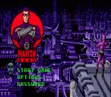 Phantom 2040 Genesis title screen