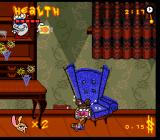 The Ren & Stimpy Show: Veediots! SNES Ran out of health