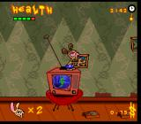 The Ren & Stimpy Show: Veediots! SNES Carrying a picture frame