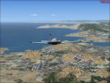 Microsoft Flight Simulator X Windows Mooney Bravo over Cartagena (Spain)