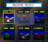 GP-1 SNES Choose between automatic or manual transmission