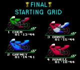 GP-1 SNES The starting grid