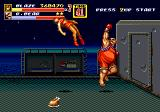 Streets of Rage 2 Genesis Stage 5: Boss R. Bear has a mighty uppercut