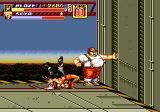 Streets of Rage 2 Genesis Stage 7: After grabbing an enemy you can perform a suplex
