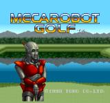 Mecarobot Golf SNES Title screen