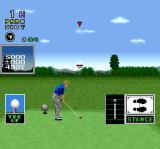 Mecarobot Golf SNES Before taking a swing
