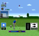 Mecarobot Golf SNES The swing meter