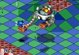 Sonic 3D Blast Genesis sharp mechanical claws.. thank goodness for the rings..