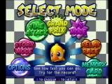 Chocobo Racing PlayStation Select Mode Screen (American version)