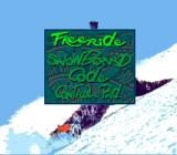 Tommy Moe's Winter Extreme: Skiing & Snowboarding SNES Main menu