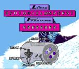 Tommy Moe's Winter Extreme: Skiing & Snowboarding SNES Password screen