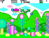 Fantasy Zone SEGA Master System Some strange creatures can be found here