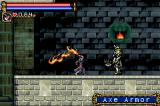 Castlevania: Circle of the Moon Game Boy Advance Fighting Axe Armor