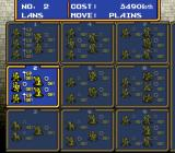Ogre Battle SNES Setting up your army.