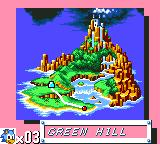 Sonic the Hedgehog Game Gear Entering Green Hill Zone
