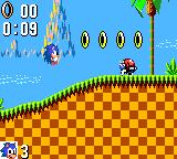 Sonic the Hedgehog Game Gear Jumping