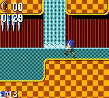 Sonic the Hedgehog Game Gear Waterfall