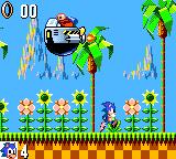 Sonic the Hedgehog Game Gear Facing Robotnik