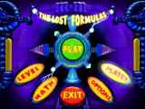 M&M's: The Lost Formulas Windows Title and main menu