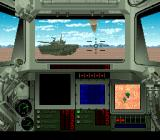 Super Battletank 2 SNES An enemy tank