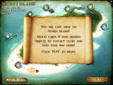 Mystery Solitaire: Secret Island Windows Map overview