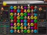 Puzzle Quest: Challenge of the Warlords Windows Fighting a boss (see that items).