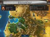 Puzzle Quest: Challenge of the Warlords Windows A glowing place means that it belongs to an active quest.