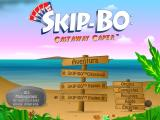 SKIP-BO: Castaway Caper Windows Main menu