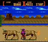 Sunset Riders Genesis No, Cormano. Don't <i>shoot</i> those buffaloes. <i>Jump</i> on them. Do you understand?