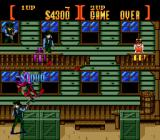 Sunset Riders Genesis Standard hostage situation. Free the girl on the right balcony to complete the first half of a level