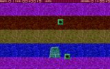 Atari Slalom Atari ST Moving down the path.