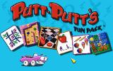 Putt-Putt's Fun Pack DOS Main Screen