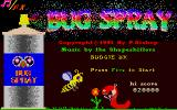 Bug Spray Atari ST Title screen