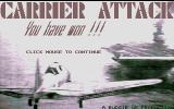 Carrier Attack Atari ST I won that match!