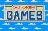 California Games Lynx Title Screen