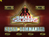 Small Soldiers: Squad Commander Windows Title screen