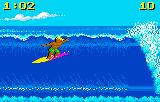 California Games Lynx Surfing