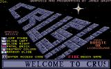 Crush! Atari ST Title screen