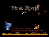 Metal Fighter NES Title screen