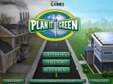 Plan It Green Windows Main menu