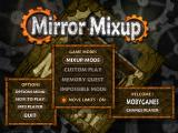 Mirror Mixup Windows Main menu