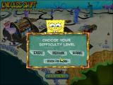 SpongeBob SquarePants: Diner Dash Windows Choosing the difficulty level for the endless mode.